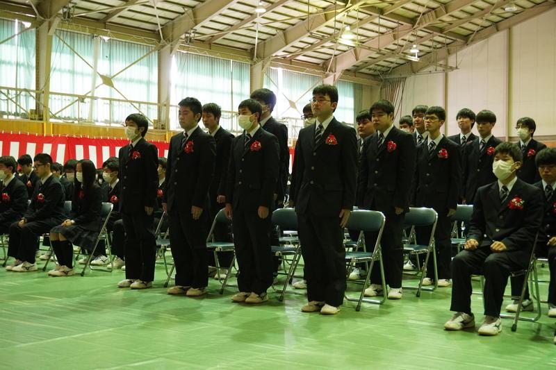 卒業式の様子2